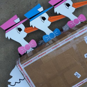 Stork Signs - Birth Announcements - Fort Worth